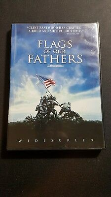 Flags of Our Fathers (DVD, 2007, Widescreen Version) War Movie Clint Eastwood