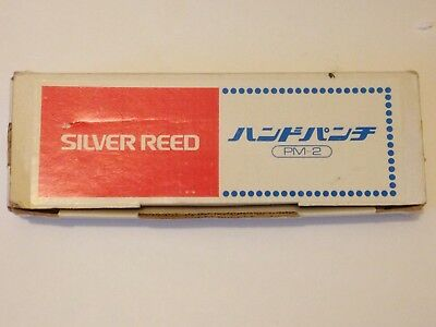 Silver Reed PM-2 Punchcard Punch For Knitting Machine