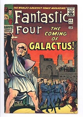 Fantastic Four #48 Vol 1 Super High Grade 1st App Silver Surfer and Galactus