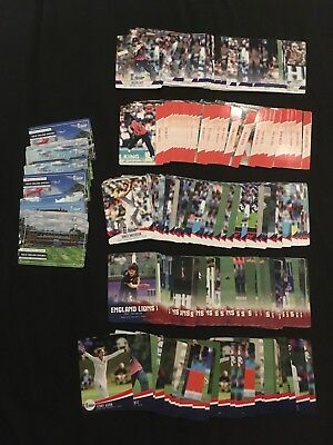 Tap N Play England Cricket 2018 Trading Cards Set Of 10 Base Cards