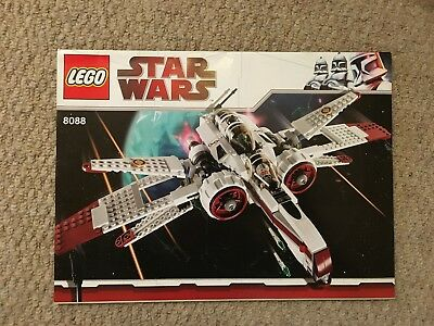 Lego Star Wars Arc 170 Starfighter 8088 100 Complete With