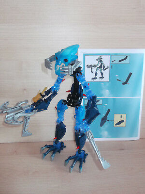 Lego Bionicle 8935 Titan Nocturn With Instructions Only 1 Squid