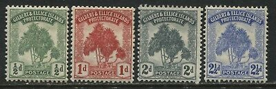 Gilbert & Ellice Islands 1911 set of 4 mint o.g.