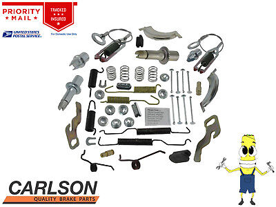 Complete Rear Brake Drum Hardware Kit for Mazda B3000 1995-2008 with 10in Drums