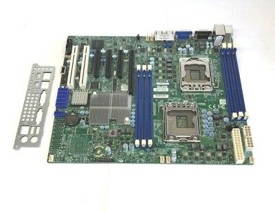 SuperMicro X8DLT-IF LGA1366 ATX Server Motherboard - I/O Plate Included