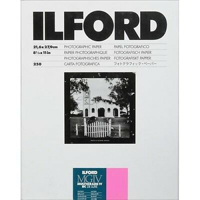 "Ilford Multigrade IV RC DeLuxe Paper (Glossy, 8.5 x 11"", 250 Sheets) 1770496"