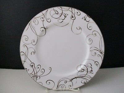 "Lenox Chocolate - Simply Fine - Luncheon Salad Plate - 9 1/4"" - 0703G"