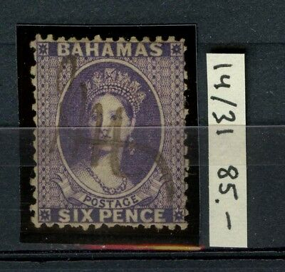 BAHAMAS 1863 Scott 14 SG 31 Used CV$85.00