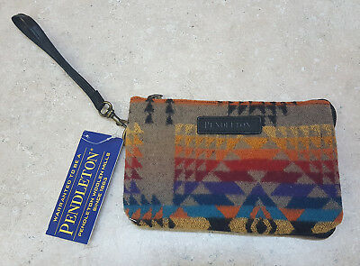 Nice Great Condition Pendleton Southwestern Design Wool 3 Pocket Wallet With Tag