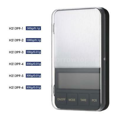 500g/0.1g High-precision Pocket Scale Accurate Jewelry Scale Kitchen Scale H8X7