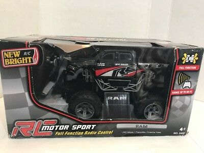 NEW BRIGHT RC MONSTER RAM TRUCK Full Function Remote Radio Control New