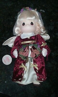 "Precious Moments 1999 Christmas Angel Doll ""Mary"" #1315 New w/tags"