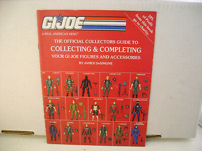Official Collector's Guide to Collecting & Completing Your GI Joe Figures & acce