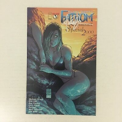 FATHOM SWIMSUIT SPECIAL 2000 Signed by Michael Turner w/ COA Image Comics NM!!!