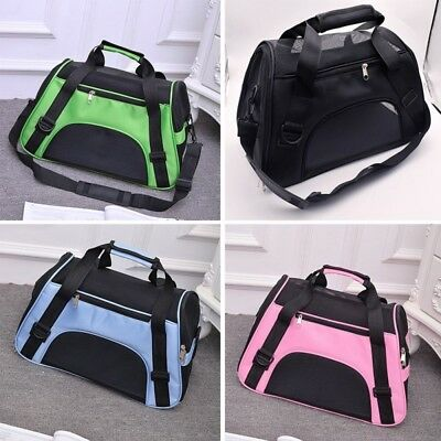 Portable Pet Dog Cat Puppy Travel Carry Carrier Tote Cage Bag Crate Kennel Bags