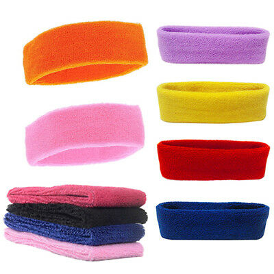 ITS- Women's Men's Sport Sweatband Headband Yoga Gym Stretch Head Hair Band Sera