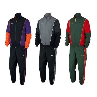 Nike NSW Throwback Basketball Woven Pants & Jacket AV6650 AV6652