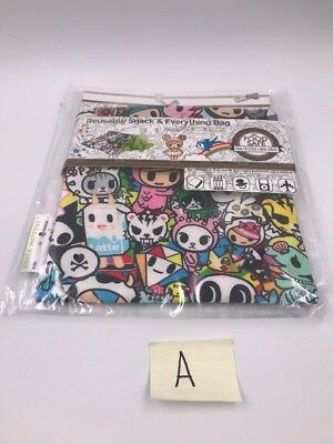 Tokidoki x Itzy Ritzy Reuseable Snack Bags: All Stars (D5)