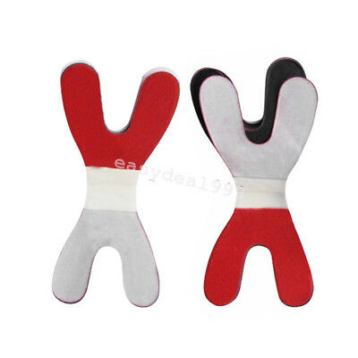 120Sheets Dental Articulating Paper Horseshoe Thick Blue/Red 6Box Super Sale