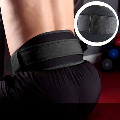 Adult Weight Lifting Belt Fitness Gym Workout Neoprene Double Support Brace NE8