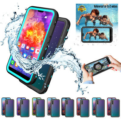 For Huawei P20 Pro Heavy Duty Waterproof Dirt proof Shockproof Case Full Cover