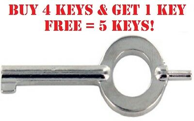 1 Police Sheriff Security Law Enforcement Standard Handcuff Key BUY 4 GET 1 FREE