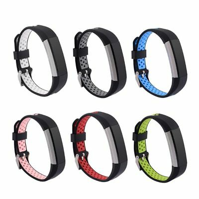 Silicone Wristband Strap Sport Watch Band For Fitbit Alta HR/Alta Replacement