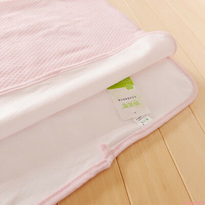 2 Size Breathable Diaper Pad Cotton Washable Baby Nappy Changing Pads cfd