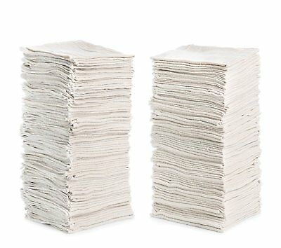 Cleaning Solutions 150 Pack Shop Towels - White 79054