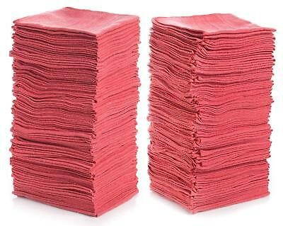 150 pc Microfiber Cleaning No-Scratch Car/SUV Polishing Cleaning Towel Red 79053
