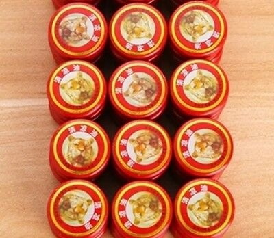 10 x Baume tigre, tiger Chinese balm lot 10 pcs x 3g