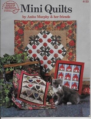 MINI QUILTS by Anita Murphy Quilt Pattern Book American School of Needlework
