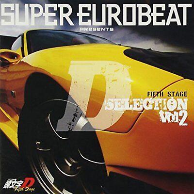 SUPER EUROBEAT presents Initial D Fifth Stage D SELECTION Vol.2 CD F/S w/Track#