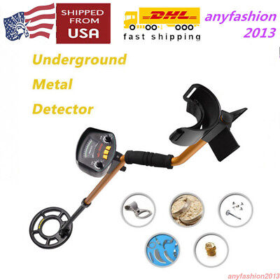 Pro Underground Metal Detector High Sensitivity Pinpointing Gold Silver Treasure
