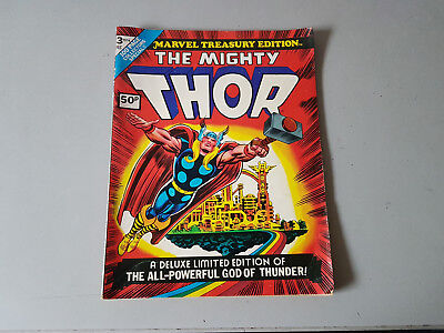 MARVEL TREASURY EDITION No. 3 - The Mighty Thor - 1974 comic