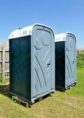 New Chemical Portable Site Loo Toilet C/w Flush & Urinal Vat & Delivery Included