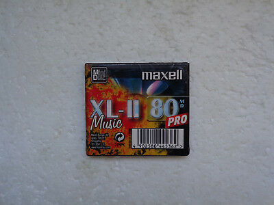 Minidisc MAXELL XL-II 80 Pro - Recordable MD Neuf
