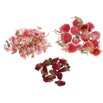 8g/Bag Natural Real Flower Dried Flowers for Art Craft DIY Candle Ornament