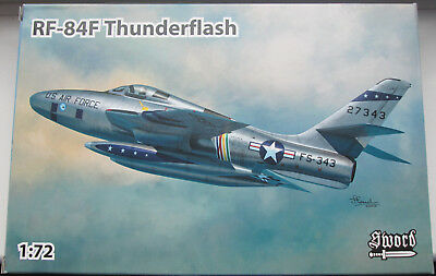 Sword 1/72 SW72116 Republic RF-84F Thunderflash (box 1)  Model Kit