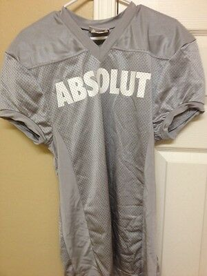 Rare Ladies Absolut Vodka Mesh Football Jersey-Hiram Wreckers #10-EUC-Free Ship