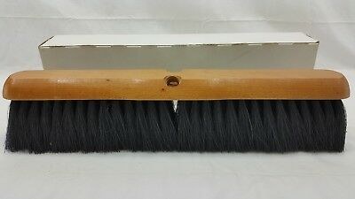 "Floor Brush Head, Push Broom, Type 41, 18"" long, New old stock, Never used"