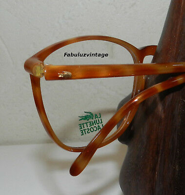 VINTAGE ANCIEN STOCK LUNETTES LACOSTE 908 54-18 140mm col1533 FRAME FROM FRENCH