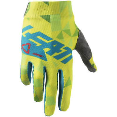 LEATT GPX 1.5 Junior Motocross Childrens Dirt Bike Gloves 2018 Green Kid US2 EU1
