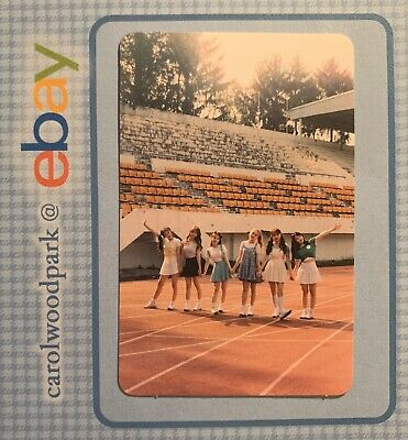 LOONA Monthly Girl Line Night Unit ++ Plus Plus Limited B Version Photocard