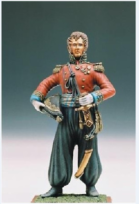 1/32 French officer Napoleon's conquest of Egypt 54mm Model High Quality Resin