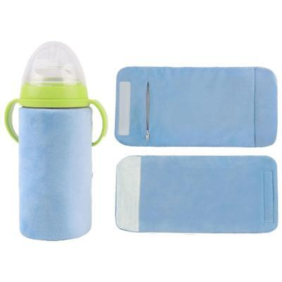 USB Baby Bottle Warmer Portable Thermal Kids Feeding Milk Bag Outdoor Keep Warm