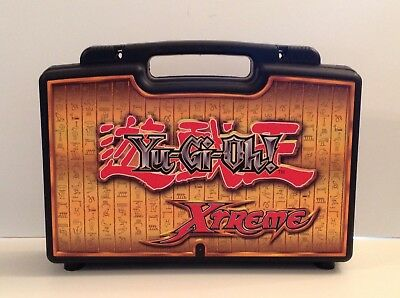 "Yu-Gi-Oh! Xtreme Trading Card Hard Plastic Carrying Storage Case 16"" x 9"" Empty"