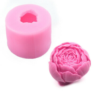New 3D Rose Flower Silicone Cake Chocolate Mold DIY Handmade Soap Making Mold