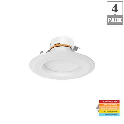 4 Pack Lot Commercial Electric Soft White Led Light