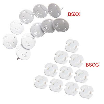 10Pcs Baby Child Safety Power Board Covers Protective Socket Outlet Plug Cover